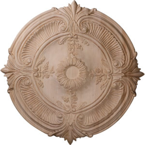 Wood Ceiling Medallion