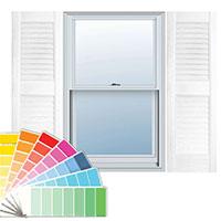 VINYL WINDOW SHUTTERS