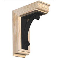 IRONCREST Rought Sawn Brackets