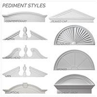Urethane Pediments
