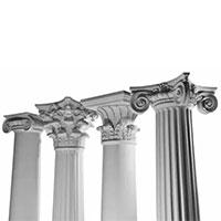 Firerglass Columns